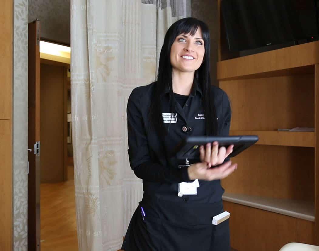 Custom Healthcare Room Service