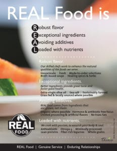 Our Mission: REAL Food