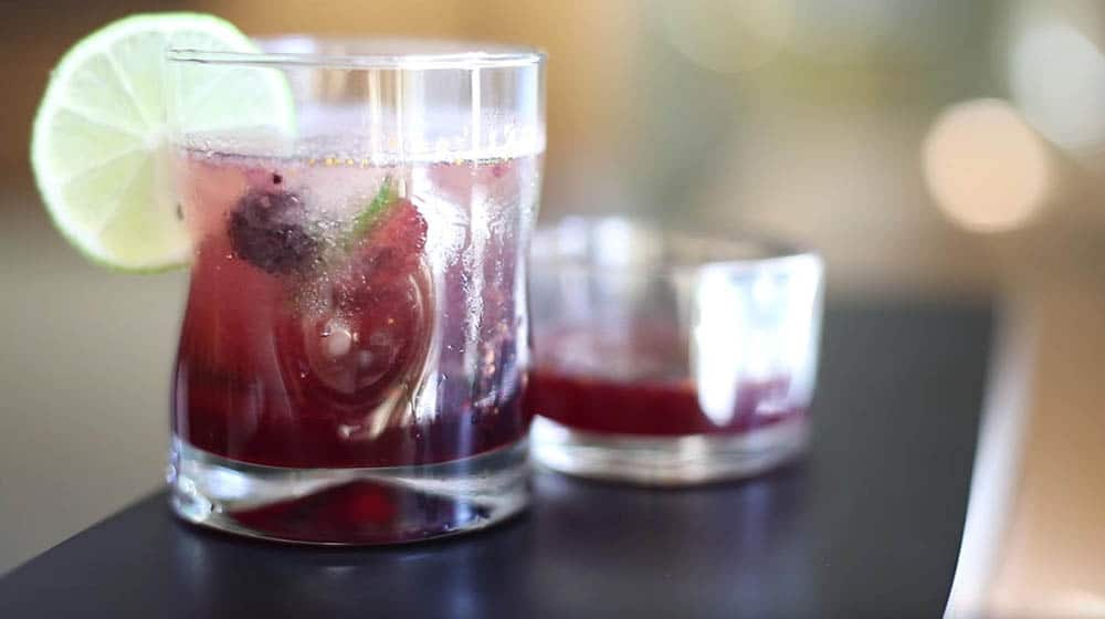 Be Gutsy! Free Blackberry-Fig Shrub Recipe