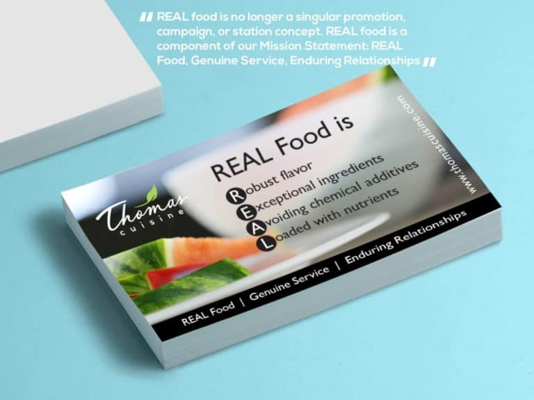 REALFood by Thomas Cuisine