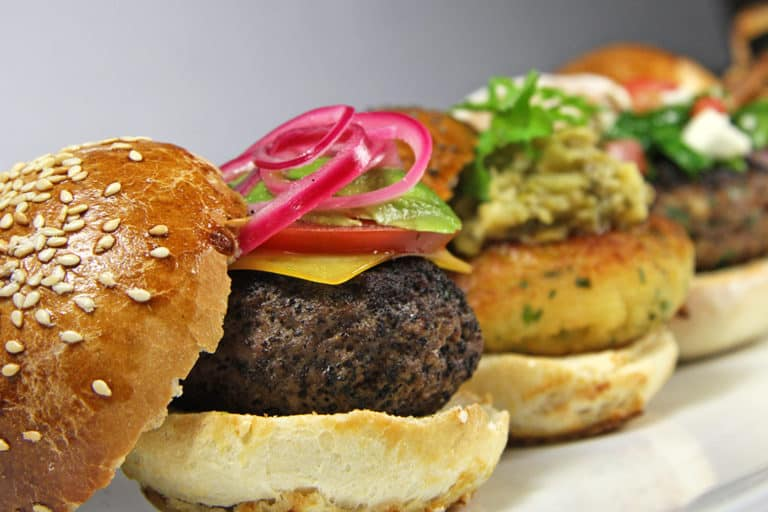 Sliders, Higher Ed Nutrition Options