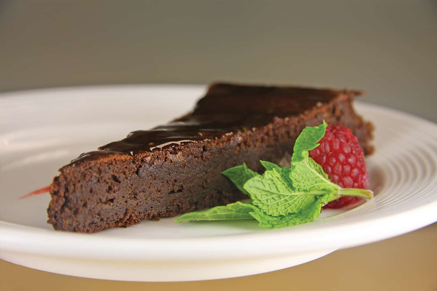 Chocolate Torte, Healthcare Food Service Menu Options