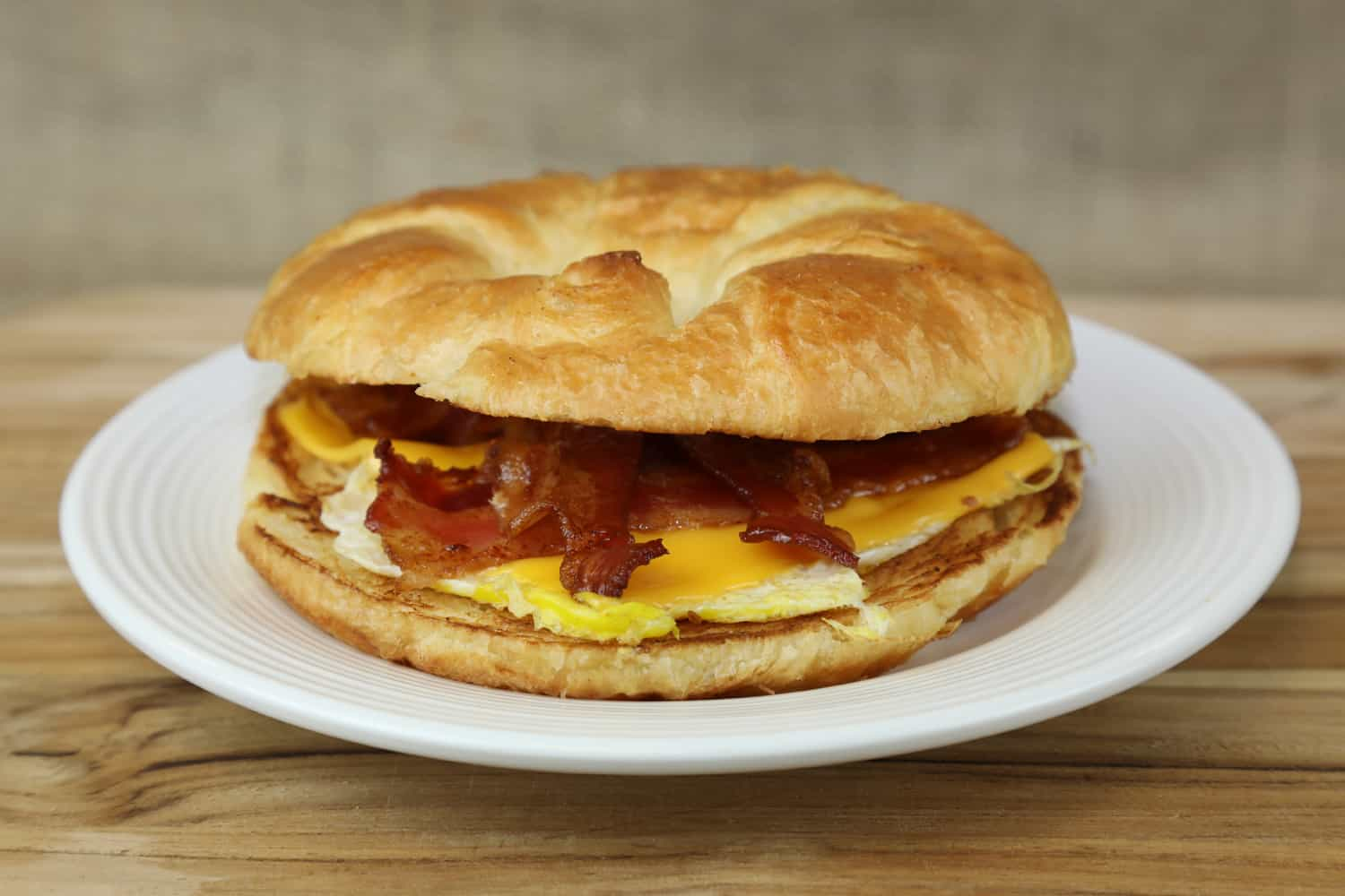 Breakfast Sandwich, Healthcare Food Service