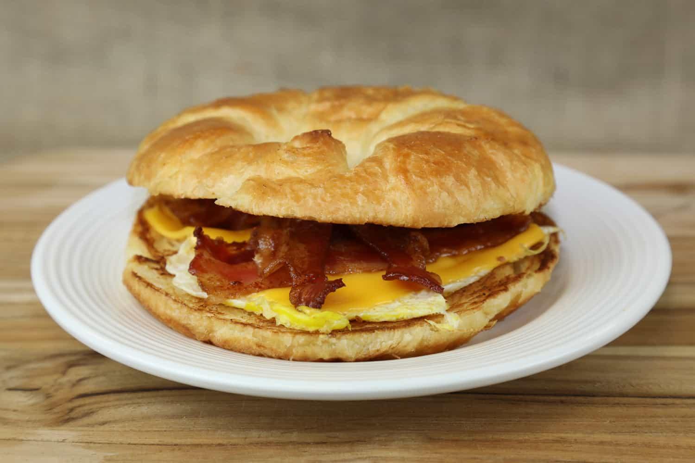 Breakfast Sandwich, Healthcare Food Service