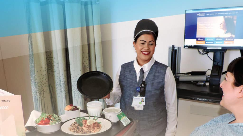 Healthcare Food Service Patient Dining Program, UnitHost Meal Delivery