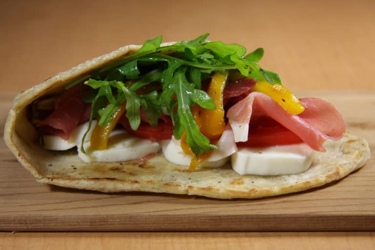 Flatbread Wrap, College Food Service Cafe Options