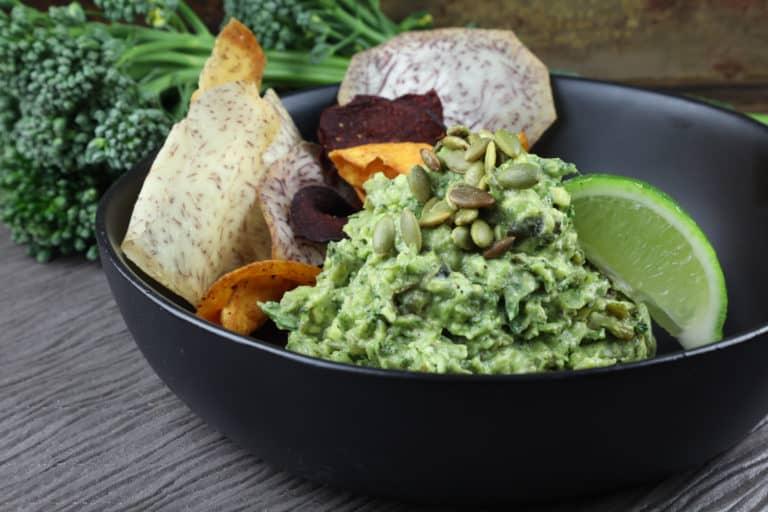 Broccomoli - Broccoli and Guacamole, Higher Ed Cuisine options
