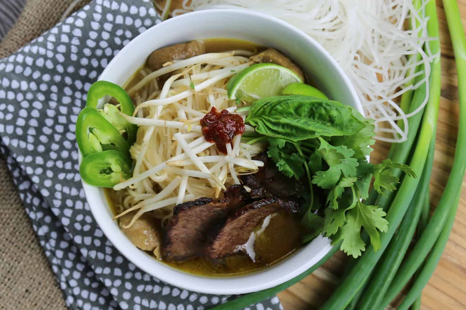 Beef Pho, International Cuisine, Higher Ed Food Service