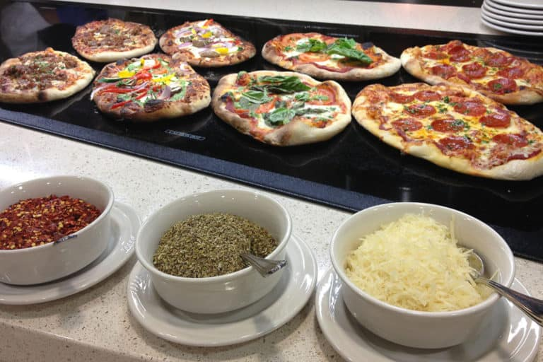Higher Education Nutrition Options, Pizza