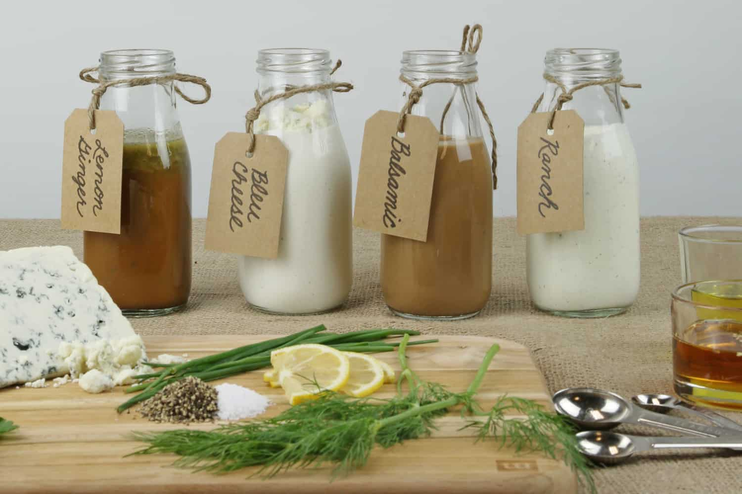 Salad Dressings Made from Scratch