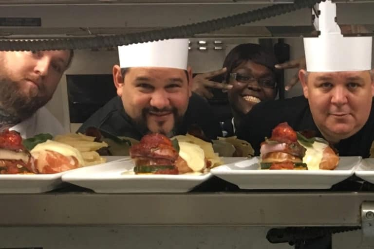 Culinary Excellence - Senior Food Service Dining Team Members