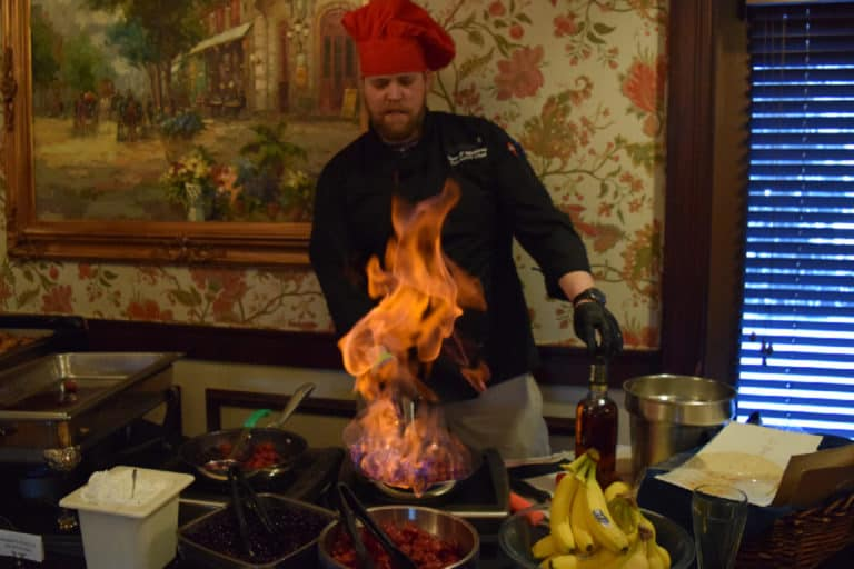 Exhibition Cooking Demo - Senior Living Dining Experience