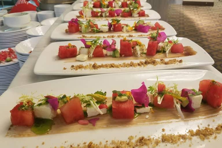Plated Salad - Senior Living Dining Service