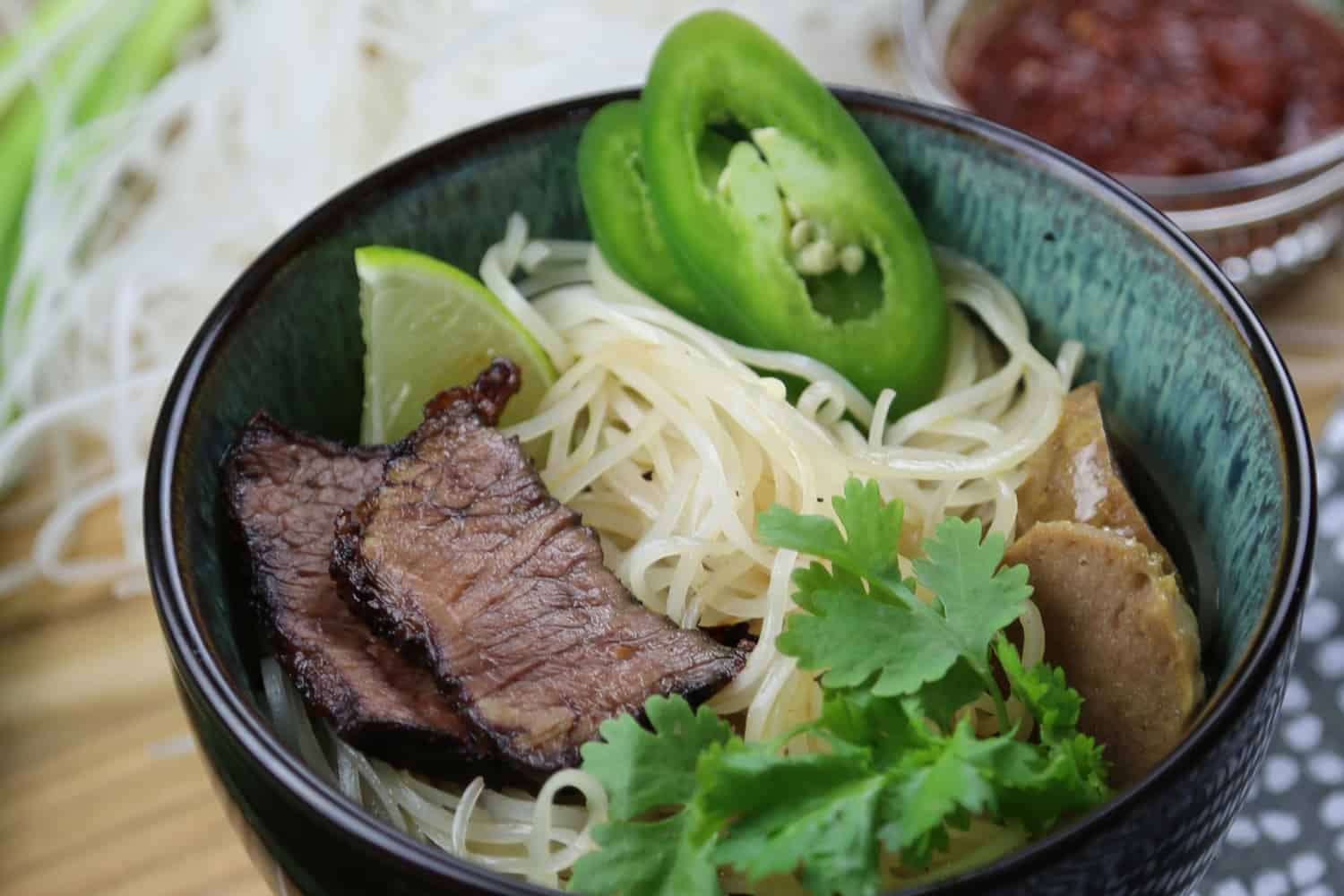 Beef Pho - Global Cuisine, Corporate Dining Food Service Cafe Bowl