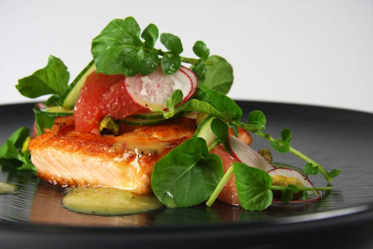 wild-caught salmon, college sports cuisine, athletic nutrition
