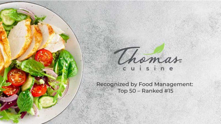Food Management: Top 50 – Ranked #15