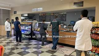 Cafe Remodel by Thomas Cuisine, healthcare food service