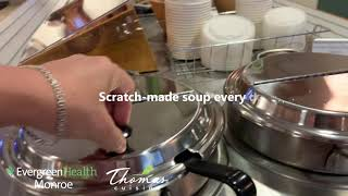 Thomas Cuisine food service company, healthcare client