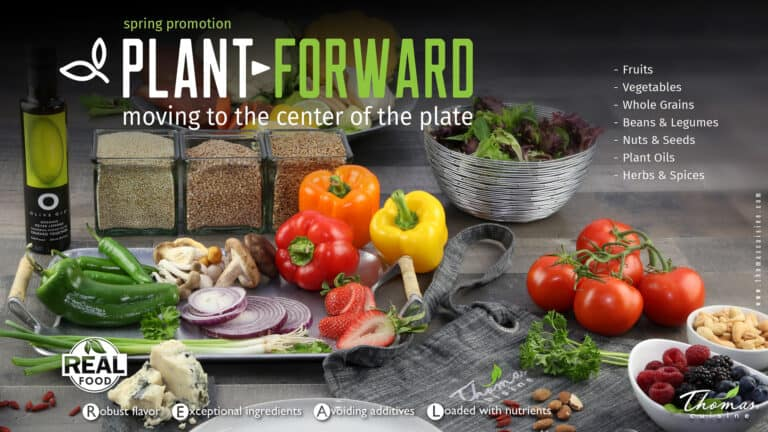 plant forward eating
