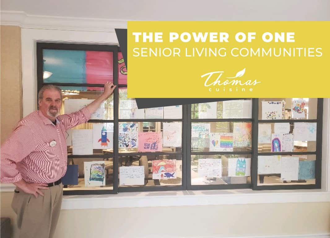Pen Pal Program for Luxury Senior Living Community Edgemere