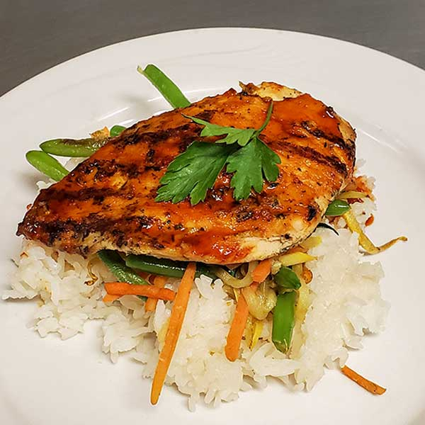 Chicken Rice Veggies, Healthcare Foodservice