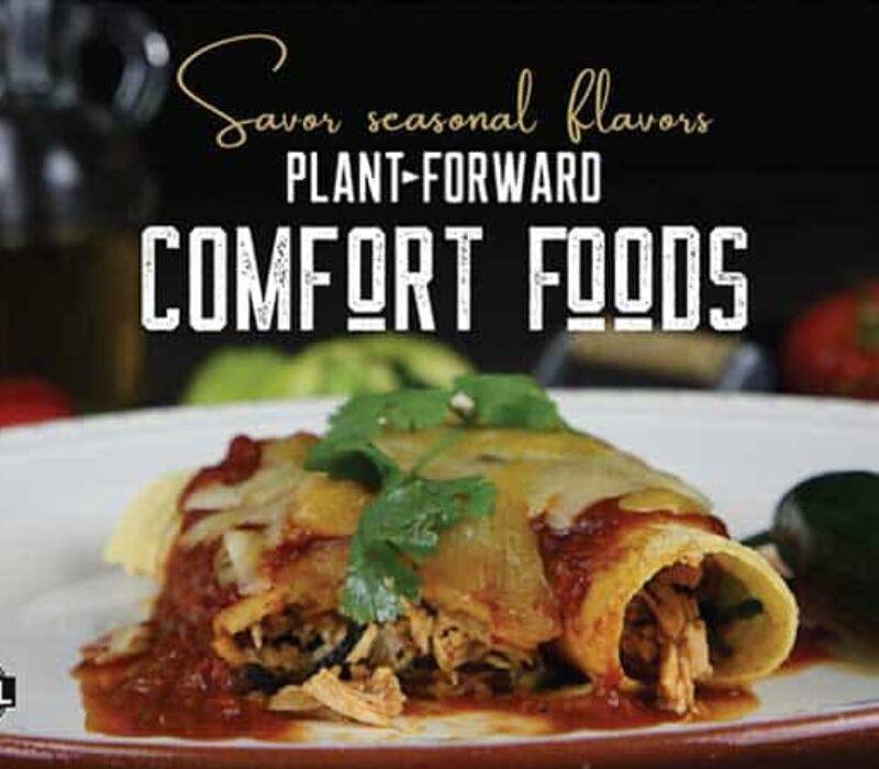 Plant Forward Comfort Foods