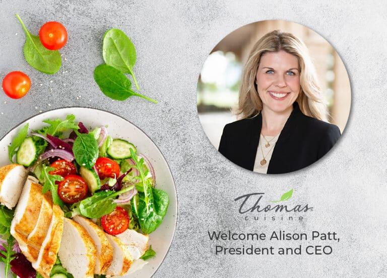 Thomas Cuisine New CEO Alison Patt