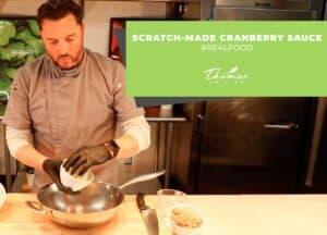 How to make scratch make cranberry sauce