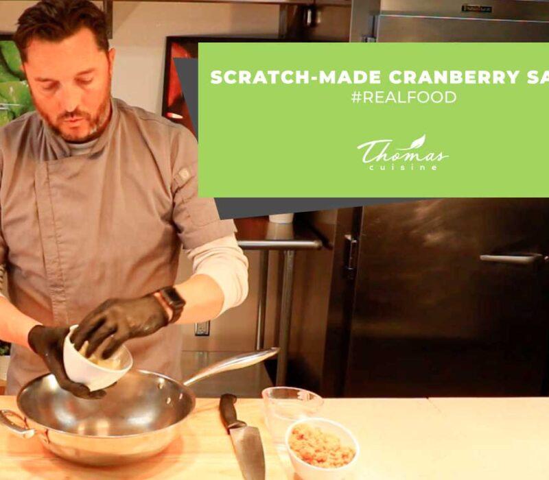 Scratch-Made Cranberry Sauce