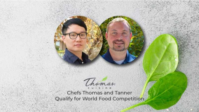 Thomas Tanner World Food Competition Thomas Cuisine