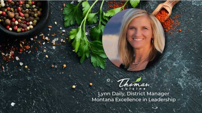 Thomas Cuisine Award Montana Lynn Daily