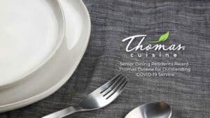 Senior Living Resident Council Honors Thomas Cuisine