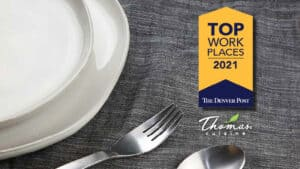Thomas Cuisine Ranked in Top Workplaces 2021